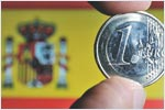Spain budget deficit for the first half amounted to 3.81 per cent of GDP